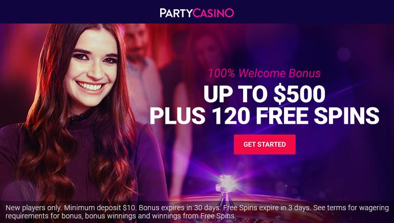掀起波瀾的Party Casino歡迎紅利